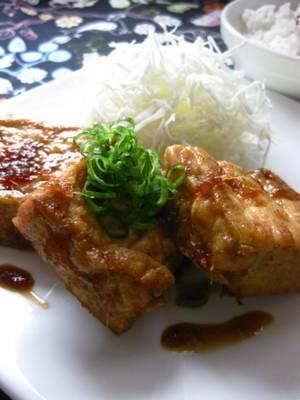 豆腐の生姜焼き。by :きー。さん