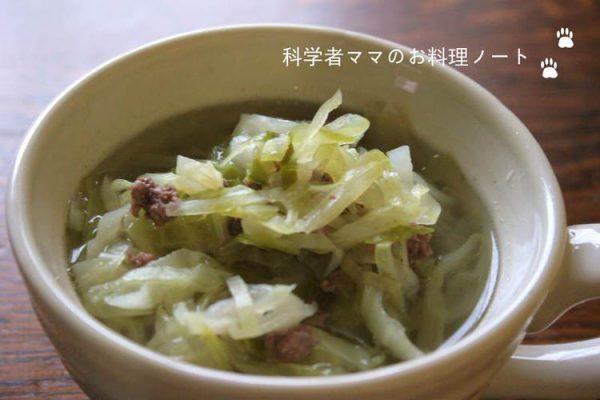 キャベツとひき肉のスープ by :nickyさん