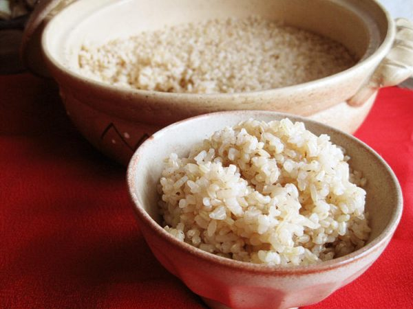土鍋 de 玄米のびっくり炊き by:えんさん