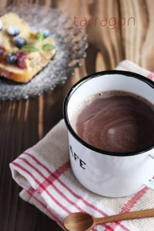疲れがとれない朝は♪材料3つでぽかぽか「ジンジャーホットチョコレート」by:タラゴン(奥津純子)さん