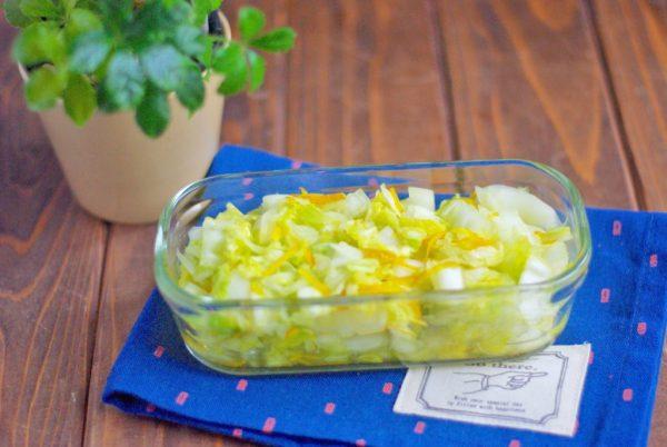 白菜使い切り!ゆず風味の簡単作り置き「白菜の浅漬け」 by:Mayu*さん
