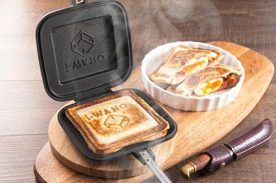 新生活の朝をおいしく!カリカリ食感が簡単「i-WANO×燕三条 ホットサンドメーカー」