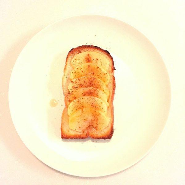 (美味しい朝食♪焼きりんごトーストby:yasuさん)