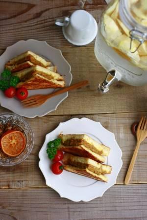 週末のブランチレシピ♪あまったカレーでお手軽カレーパン by :大本紀子さん
