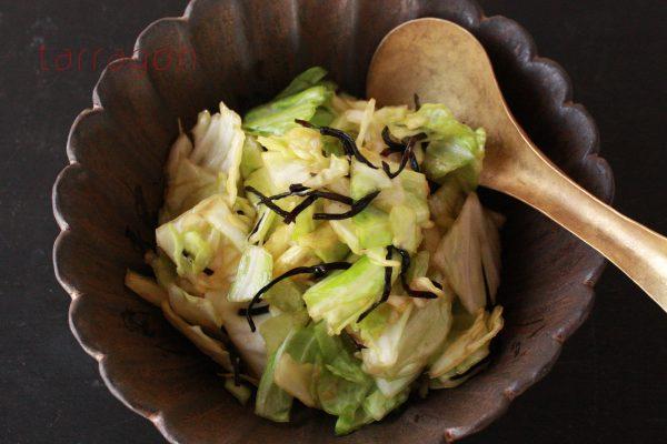 袋に入れて5分もむだけ!簡単やみつき「キャベツと塩昆布のサラダ」
