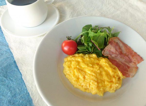 とろとろ半熟卵がたまらない!基本の「スクランブルエッグ」by :料理家 村山瑛子さん