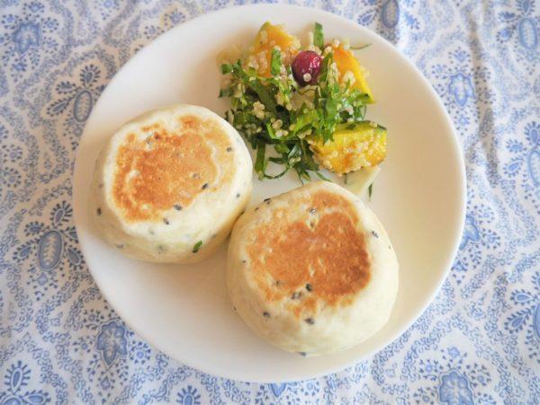 フライパンで焼ける!オイルも卵も発酵もいらない「お豆腐パン」レシピ♪by :パン・料理家 池田愛実さん