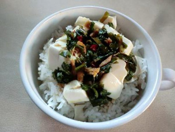自家製ソースで豆腐丼by:CatherineSさん