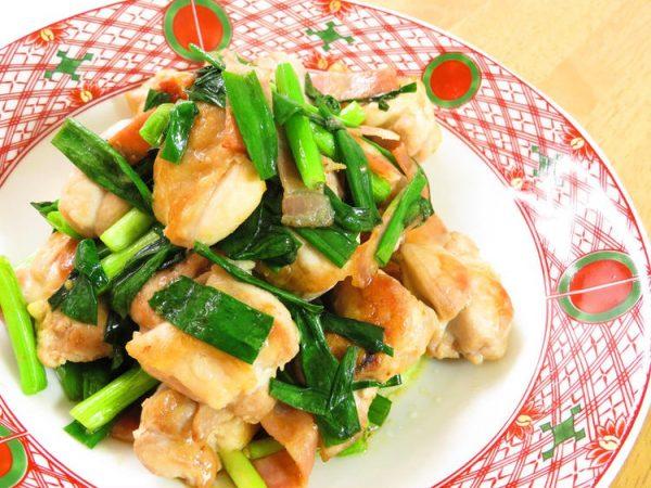 鶏肉と青ネギのにんにく醤油☆お弁当にも♪by:kaana57さん