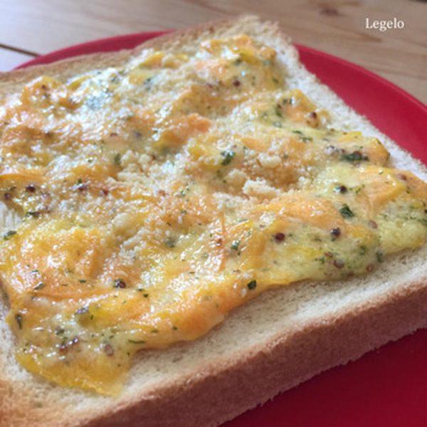 とろ~り人参トースト☆超簡単アレンジトーストで朝ごはん♪by:Legeroさん