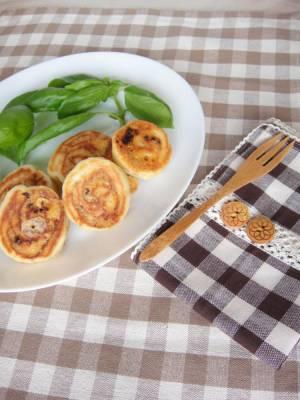 フライパンで!ドライトマトとチーズのパン☆by:やすへちゃんさん