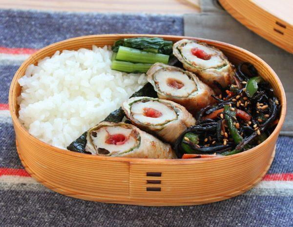 フライパン1つ!「梅ちくわの肉巻き」「ひじきと野菜の炒め物」by:料理家かめ代さん