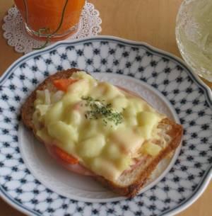 朝食に♪簡単ポテサラ☆トーストby:pastis009さん