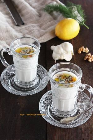 花粉症に!混ぜるだけ、塩味のヨーグルトスープ「タラトル」by:タラゴン(奥津純子)さん