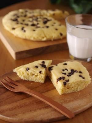 ホットケーキミックスの超簡単チョコ蒸しパン(レンジ使用)by:めろんぱんママさん
