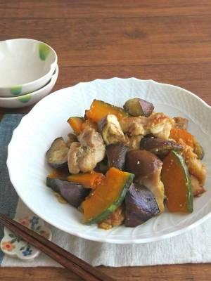ごはんがすすむ☆チキンと野菜のバタポン炒め♪お弁当にも◎by:kaana57さん