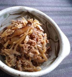 スキヤキ風な常備菜。具たっぷり牛しぐれ煮by:satohahaさん