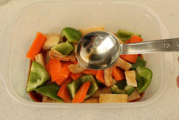 野菜の煮浸し