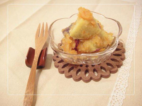 サツマイモのマーマレード和え☆by:やすへちゃん