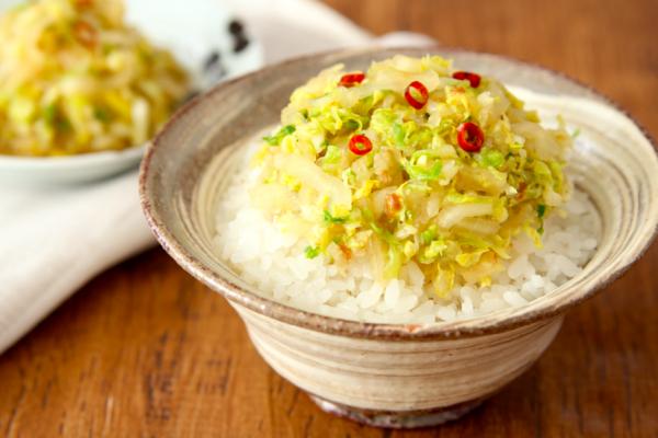 白いご飯が進む!簡単作り置き「白菜のだしポン酢漬け」by:五十嵐ゆかりさん