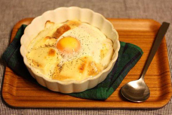 落とし卵の♪お豆腐味噌グラタンby:yukariさん