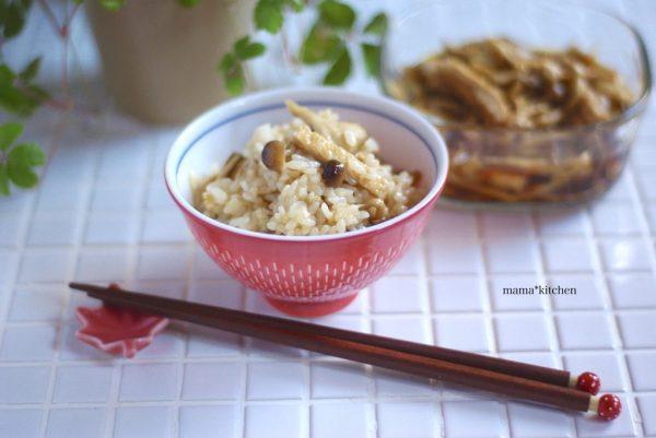 レンジで簡単作り置き!きのこたっぷり「混ぜご飯の素」byMayu*さん