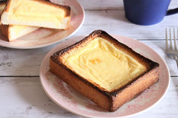 食パン+トースターでお手軽!「バスクチーズケーキ風トースト」