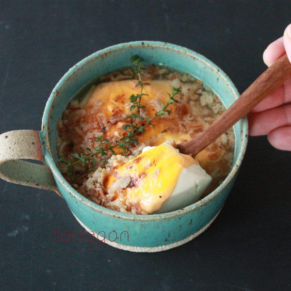 5分で簡単ヘルシー!ダイエット中もしっかり食べられる「豆腐のオニグラスープ」♪