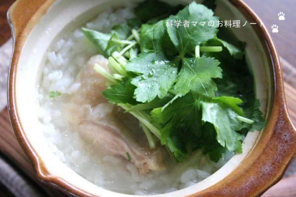 小さいお鍋の鶏雑炊by:nickyさん
