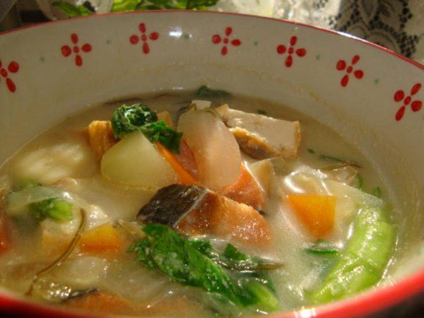 *ほっこり温か豆乳味噌スープ*by:happyspiceさん