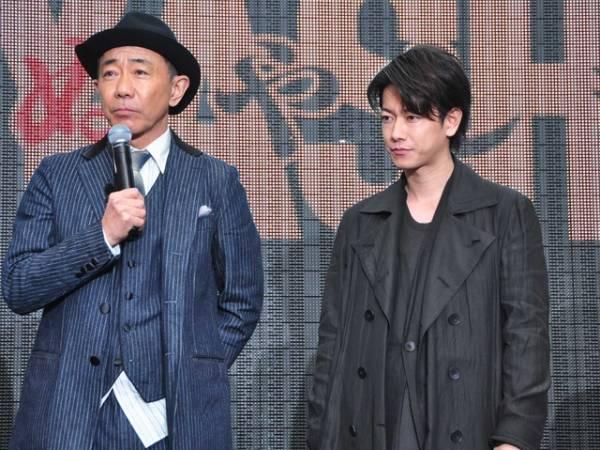 木梨憲武&佐藤健/『いぬやしき』プレミアムイベント