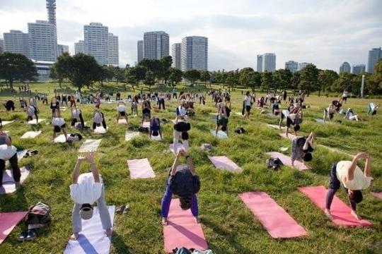 「ヨガフェスタ 横浜 2012」講師にSHIHOらを迎え、3日間限定で開催
