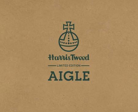 AIGLEとハリスツイードがコラボ 全世界限定各100枚のリミテッドコレクションを発売