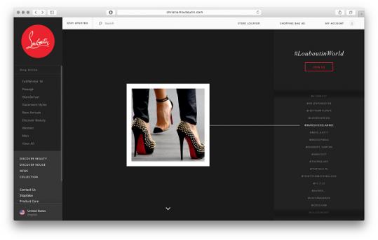 「クリスチャン ルブタン(Christian Louboutin)」がユーザー作成コンテンツ『#LouboutinWorld』をローンチ