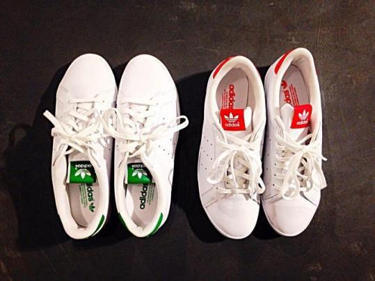 スタンスミスに新作が登場!adidasとJEANASISのオリジナルモデル『STAN SMITH BE LO W