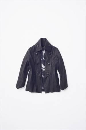 SGIZO×キリュウキリュウ「レザーナポレオンジャケット」(13万円※受け渡しは2~3ヶ月後)