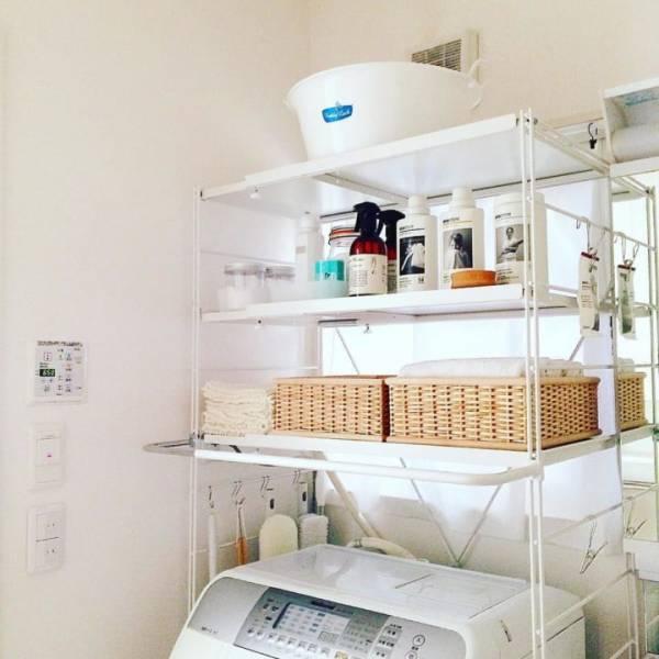 洗濯機の上も賢く活用しよう♡暮らし上手さんの収納アイディアをまとめました!
