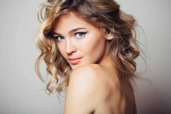 Beautiful woman with make up