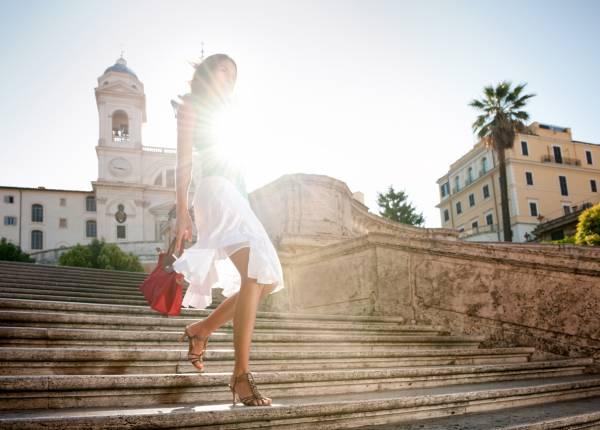 Summer Fashion, Spanish Steps