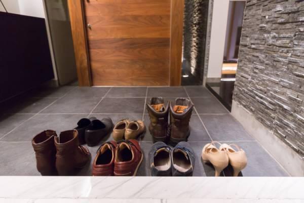 靴の臭いに気をつけて