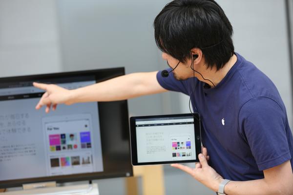 Apple表参道で自閉症支援のワークショップが開催!子どもの可能性を広げるアクセシビリティ機能とは?の画像