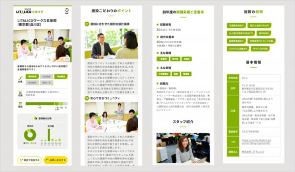 働くことに障害のある方と就労支援施設を繋ぐ「LITALICO仕事ナビ」がオープン!の画像