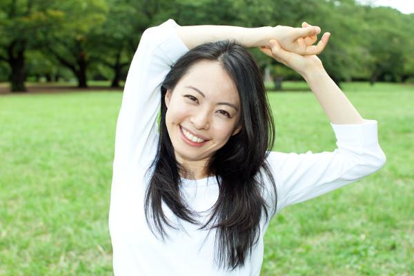 ボリューミーで豊かな黒髪は、日本女性の美しさの象徴!