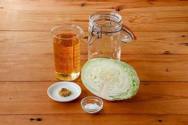 キャベツ 作り方 酢