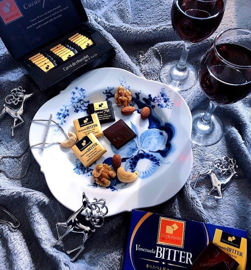 ホームパーティーで大絶賛の素敵コーデ!上質チョコで簡単おもてなしスイーツ