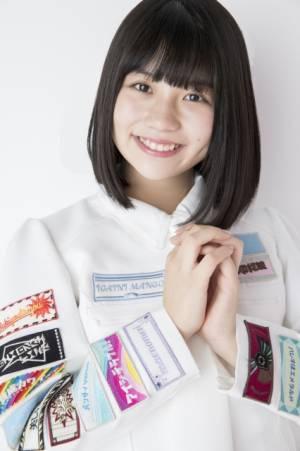 2作連続でセンターを務めたSKE48の小畑優奈(写真:川田洋司)