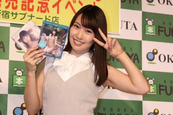 増田有華、イメージBlu-ray&DVD『Memoirs』の発売記念イベントを開催(C)Deview