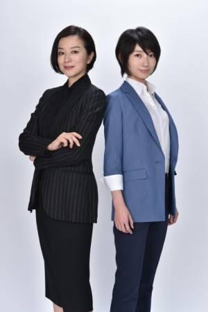 波瑠(右)と鈴木京香(左)が初共演、新番組『未解決の女警視庁文書捜査官』4月スタート(C)テレビ朝日