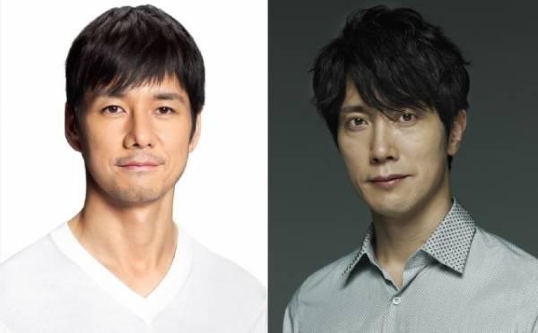 映画『空母いぶき』で初共演する(左から)西島秀俊、佐々木蔵之介