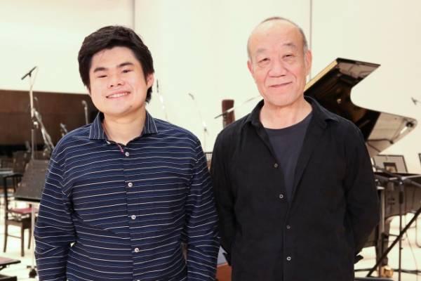映画『羊と鋼の森』エンディング・テーマでタッグを組んだ(左から)辻井伸行氏、久石譲氏 (C)2018「羊と鋼の森」製作委員会
